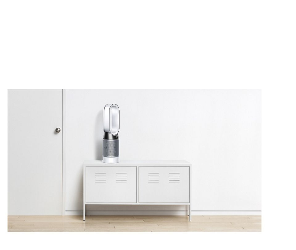A fan, a heater and a purifier
