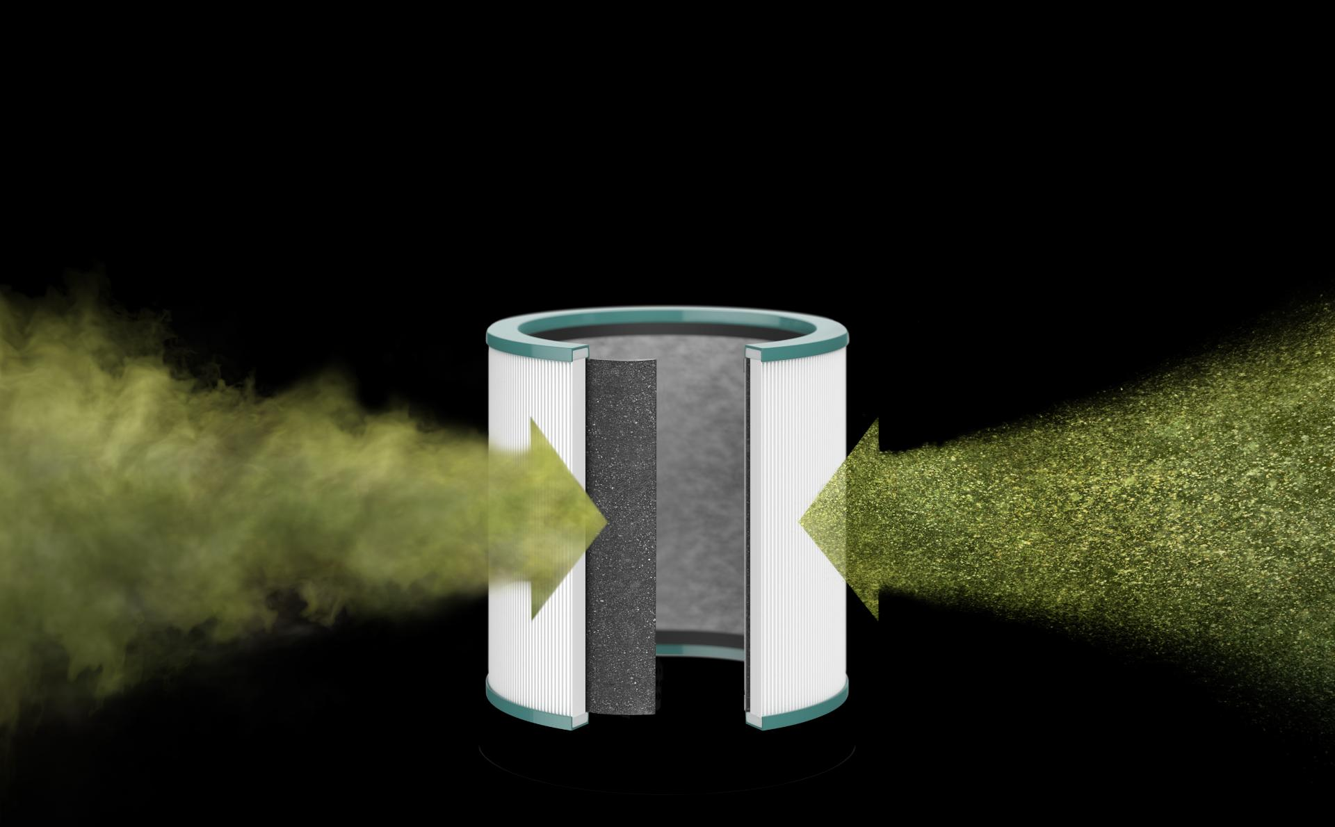Dyson HEPA and activated carbon purifier filters
