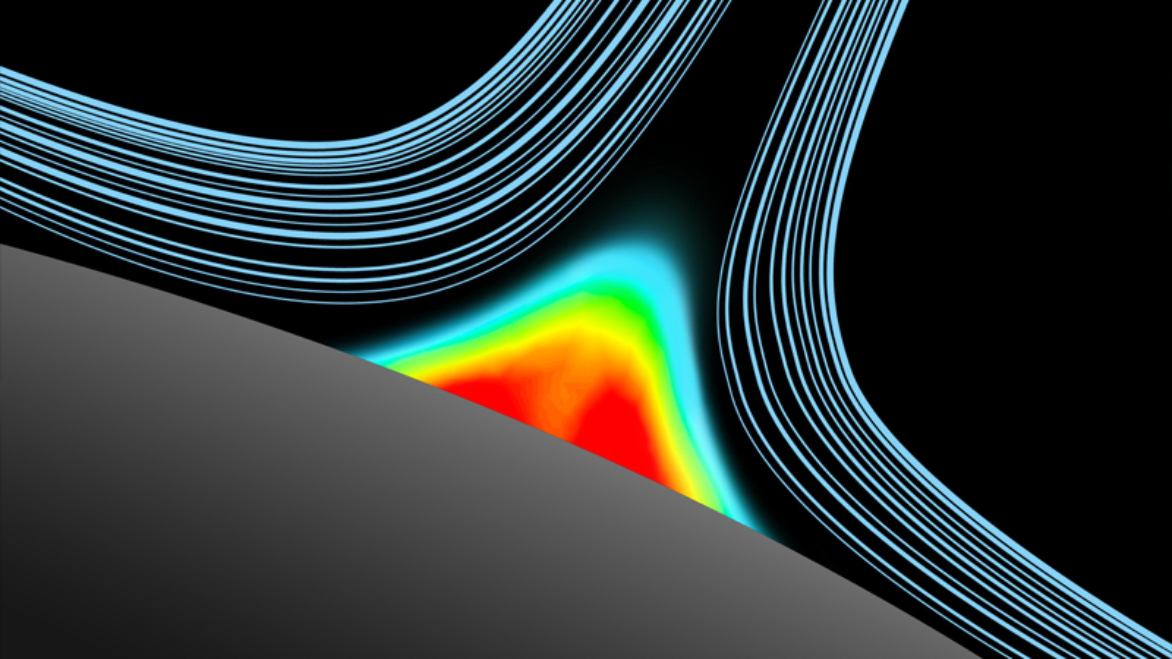 تكنولوجيا Dyson Core Flow تَضخ هواءً مُنقّى