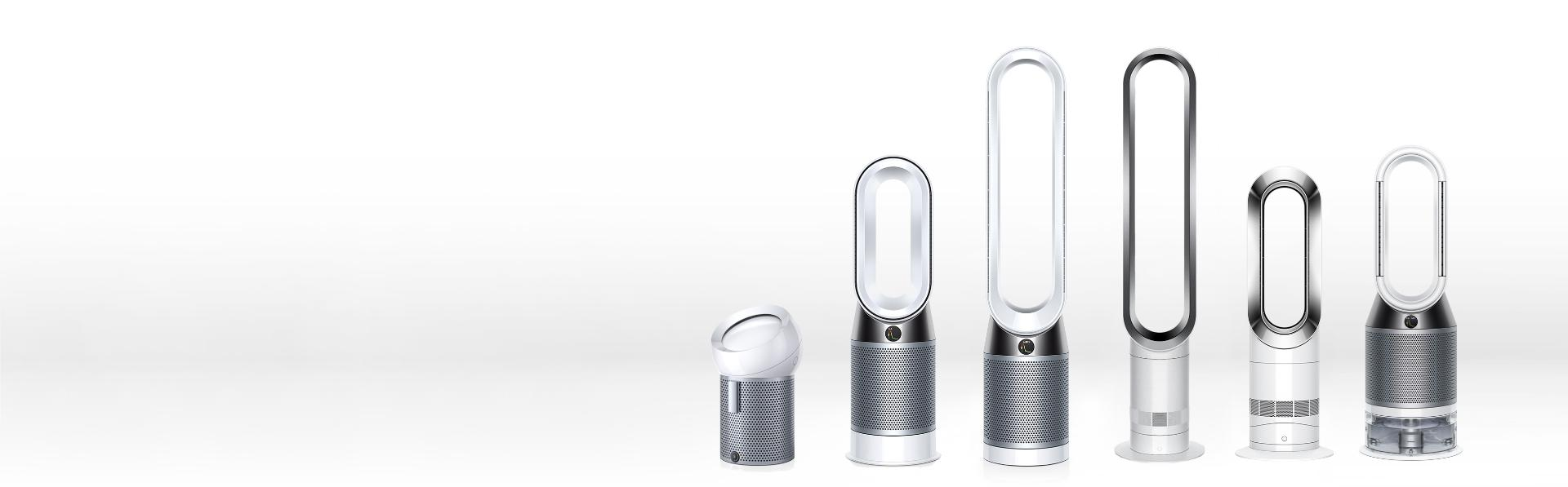 Dyson purifiers, humidifiers, heaters and fans
