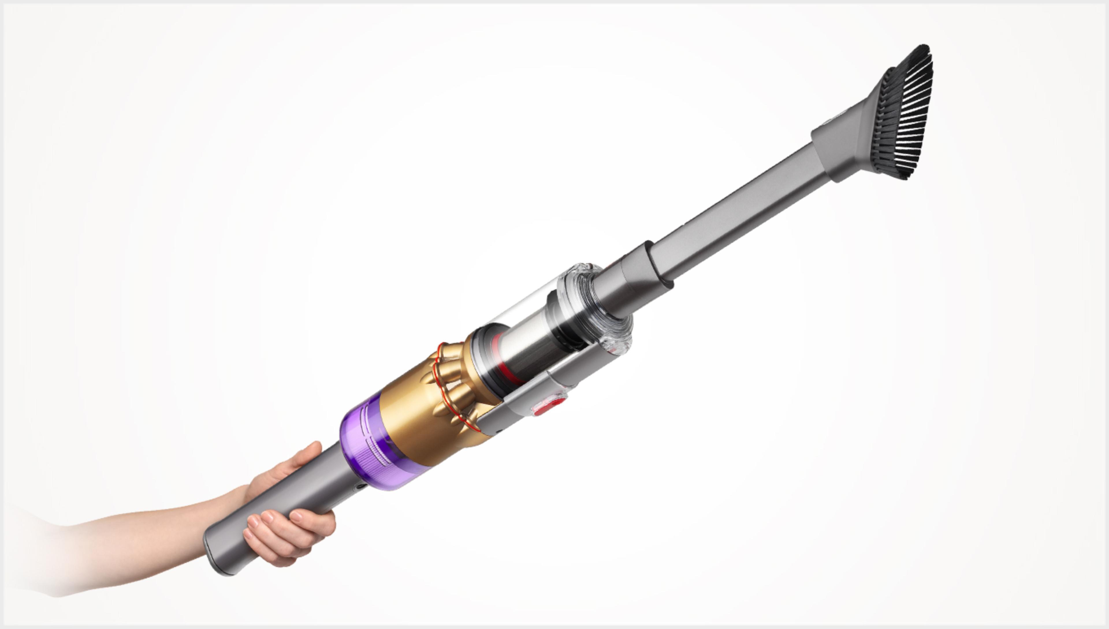 핸디형으로 전환된 다이슨 옴니-글라이드™+ 무선 청소기