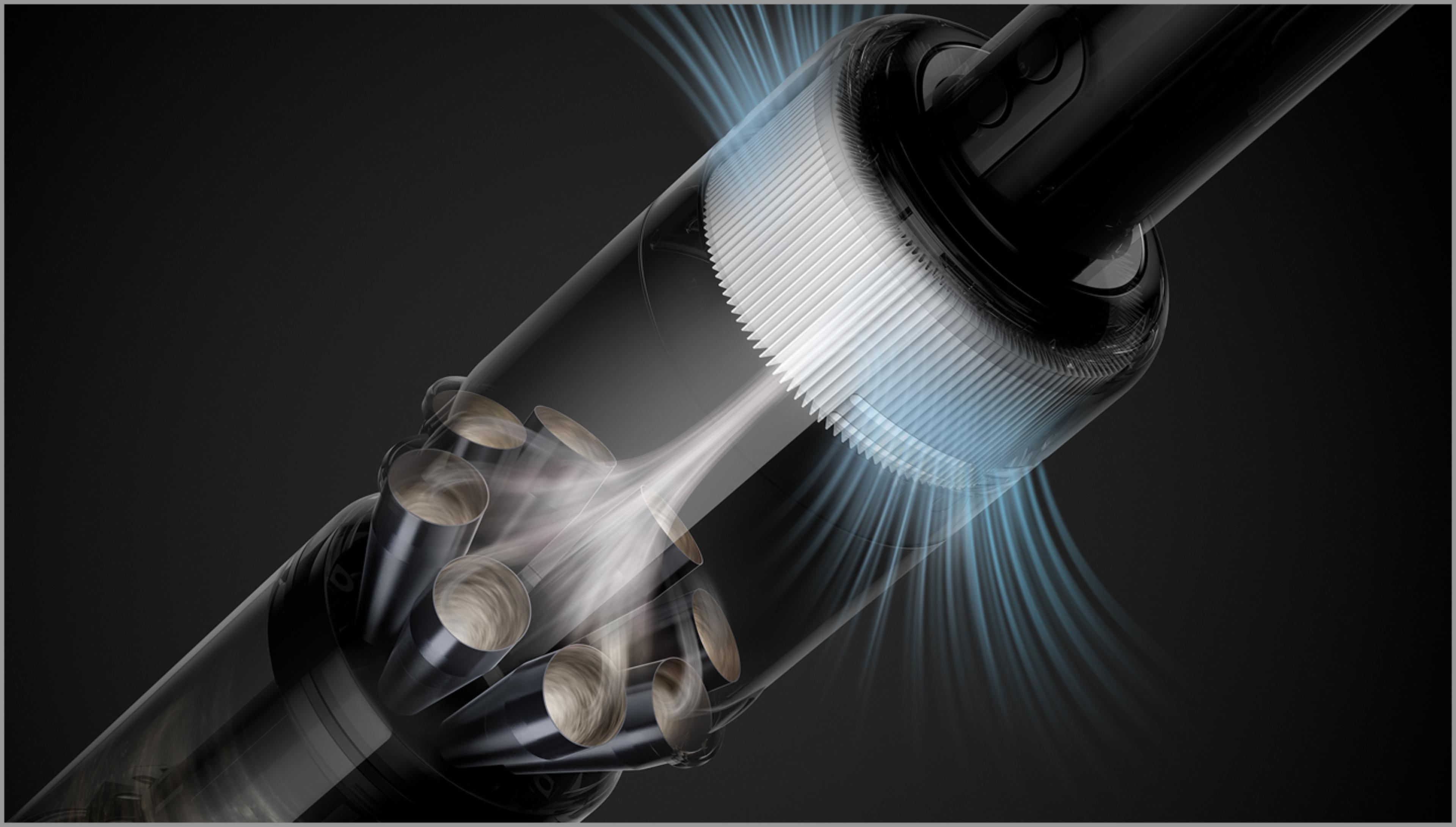 깨끗한 공기를 배출하는 첨단 필터레이션 시스템