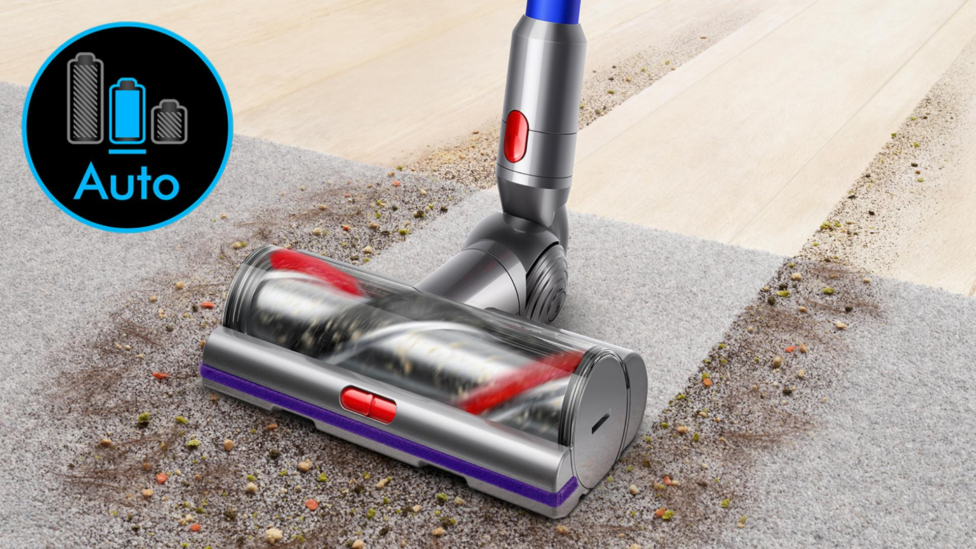 Image of Dyson V11 vacuum cleaner's high torque cleaner head