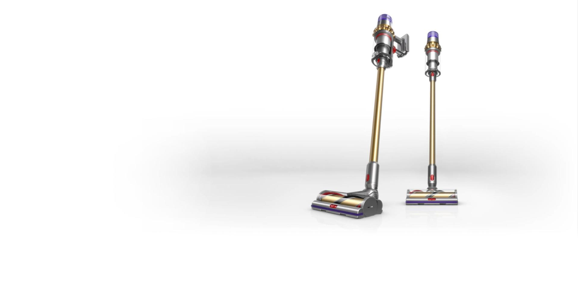 Dyson V11 Absolute vacuum with gold wand
