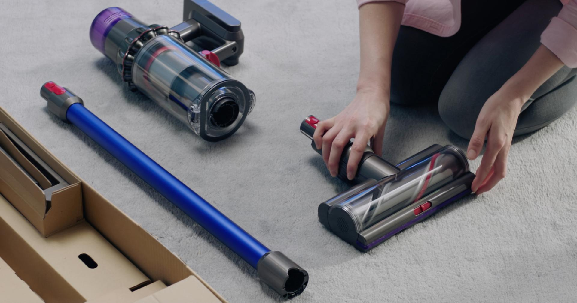 Different components of the Dyson V11™ vacuum