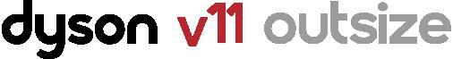Logo Dyson V11 outsize