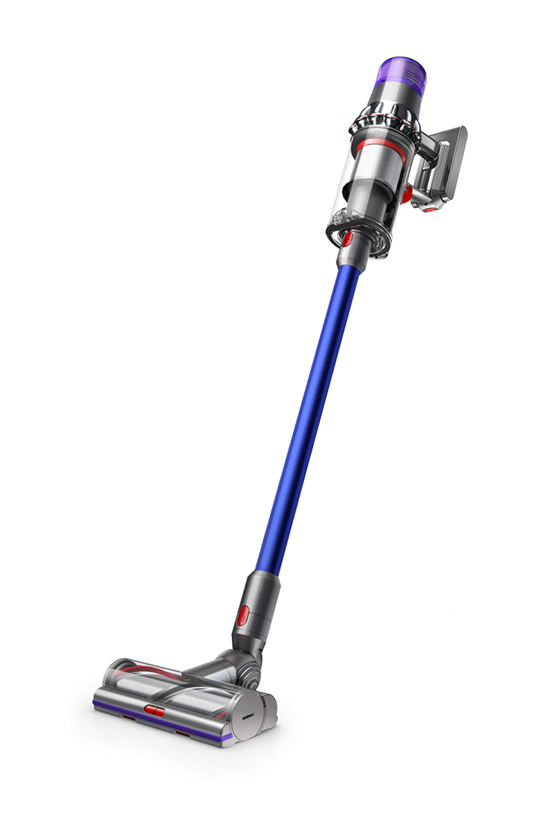 Dyson V11 Absolute in nickel/blue