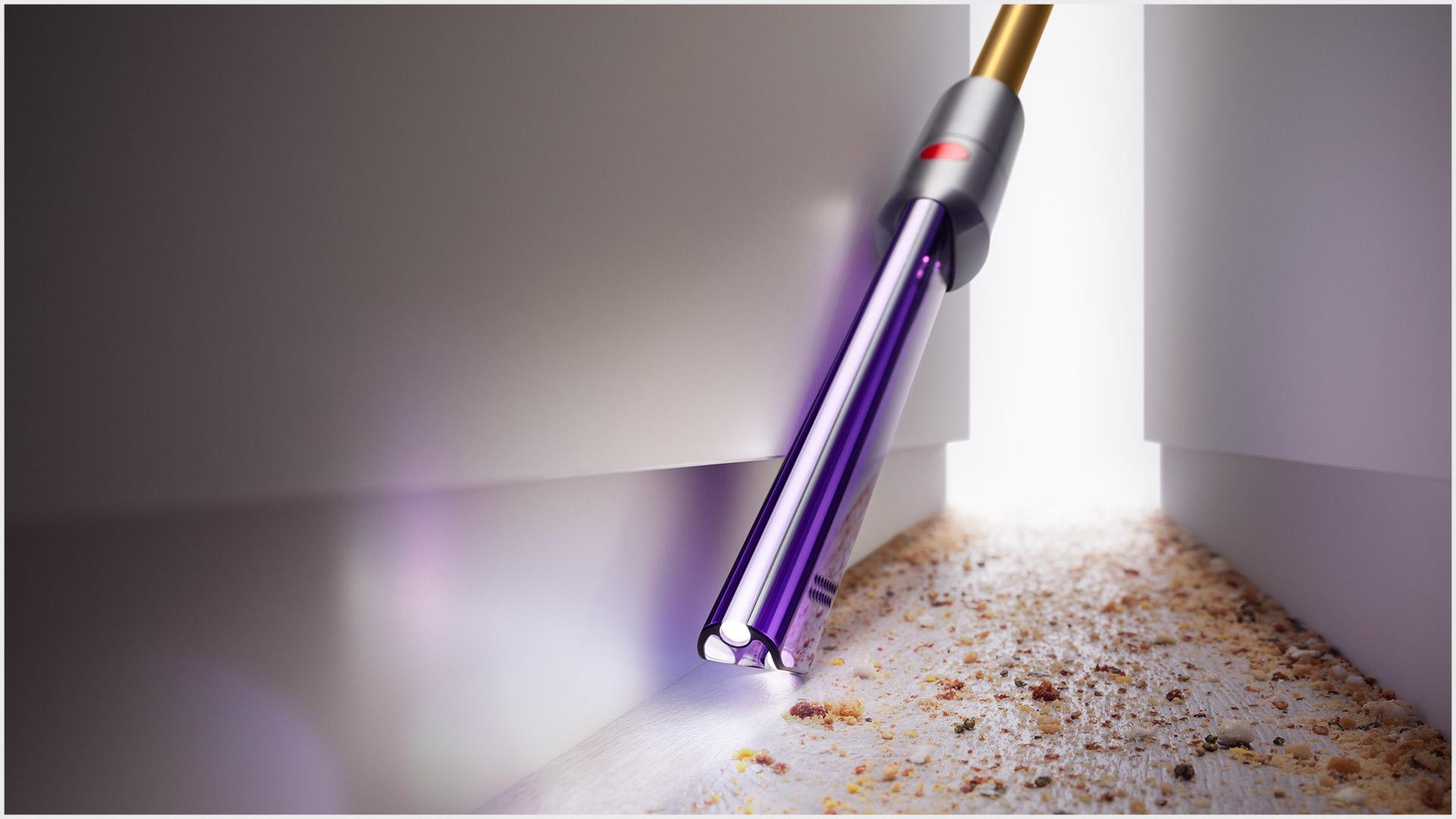 Dyson Light pipe crevice tool