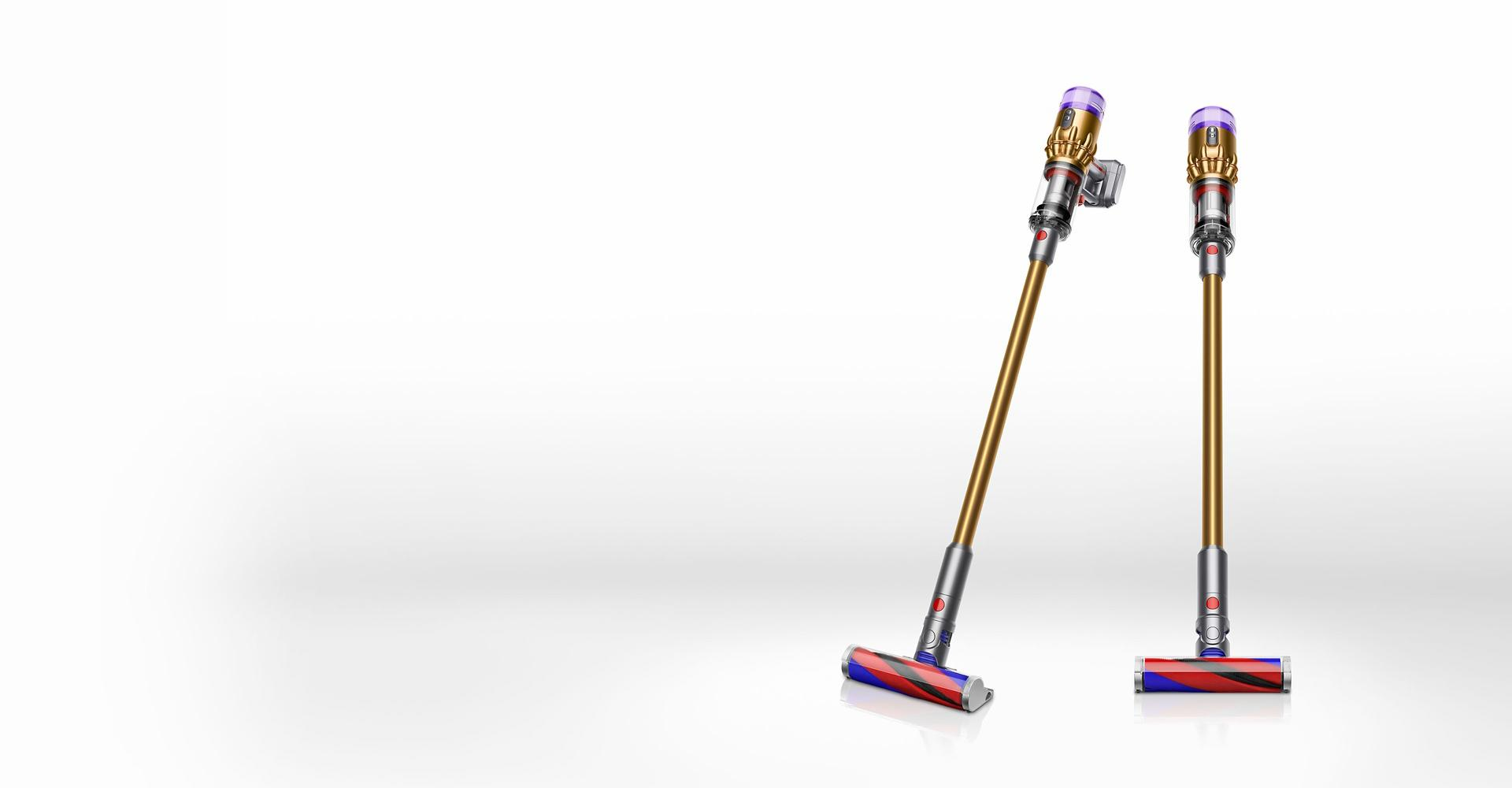 Dyson Micro 1.5kg™ vacuum in gold.