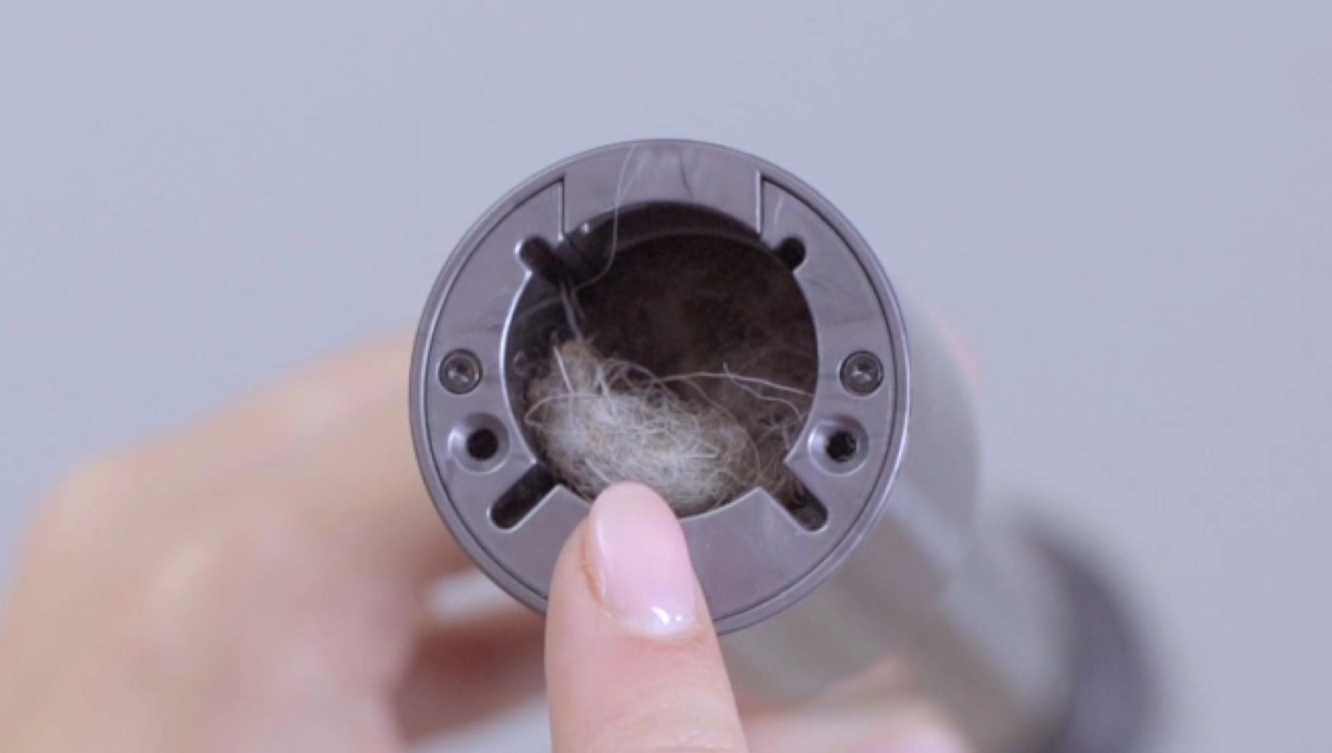 Video showing how to check for blockages