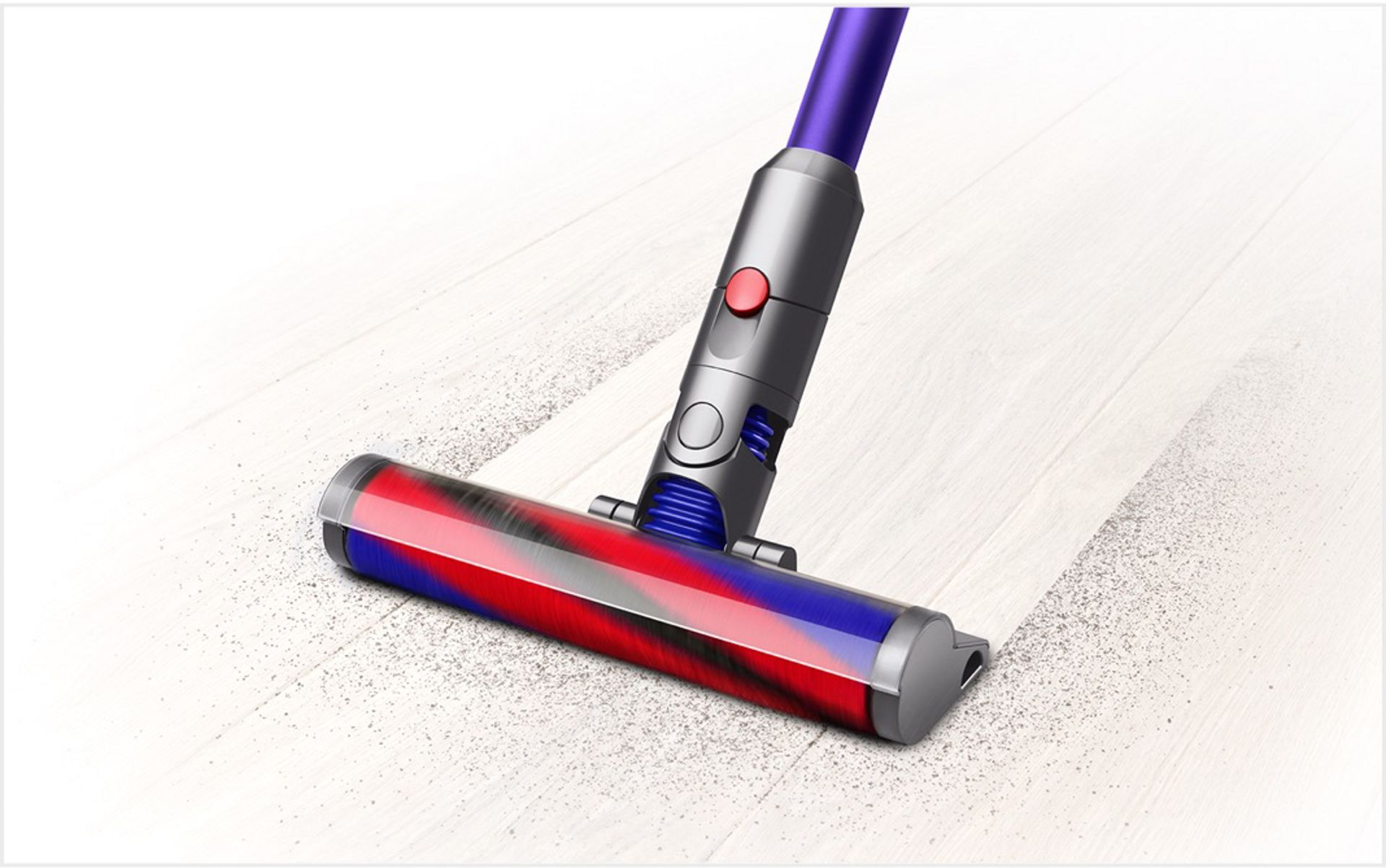 Picture of a Dyson Digital Slim™ cleaning a floor.