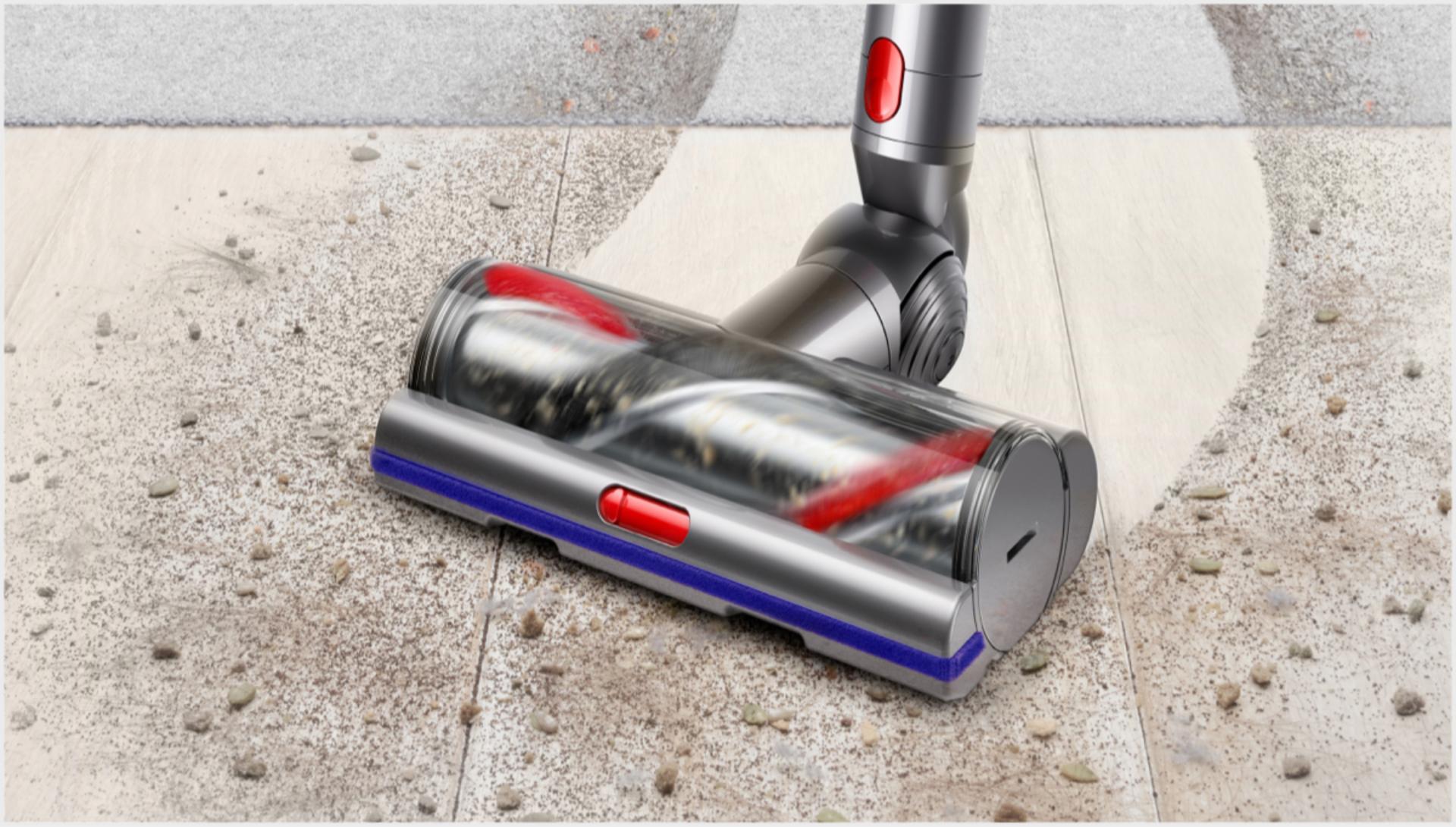마룻바닥을 청소하는 하이 토크 XL 클리너 헤드