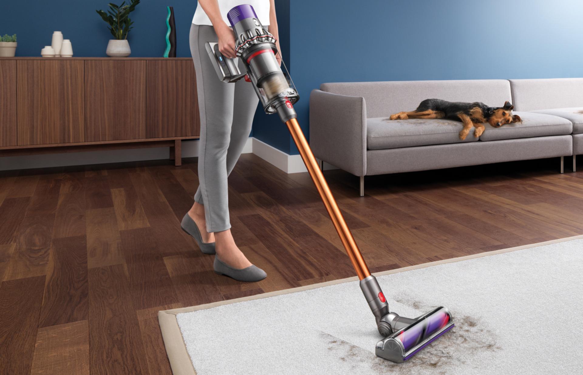 Aspirare puternică pentru a curăța orice loc în profunzime.