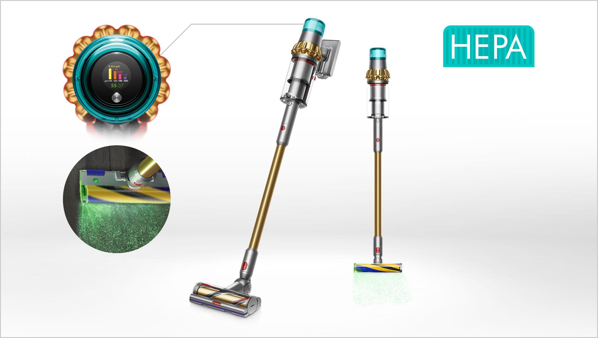 Dyson V15 Detect vacuum cleaner