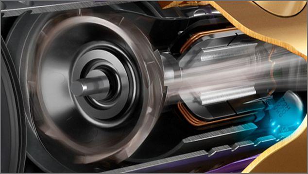 Cutaway of Dyson Hyperdymium motor