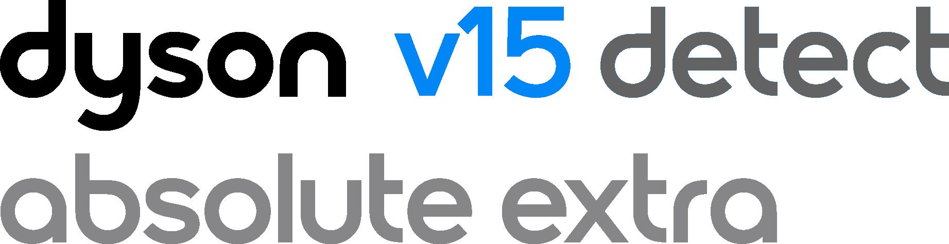Dyson V15 Detect Absolute Extra logo