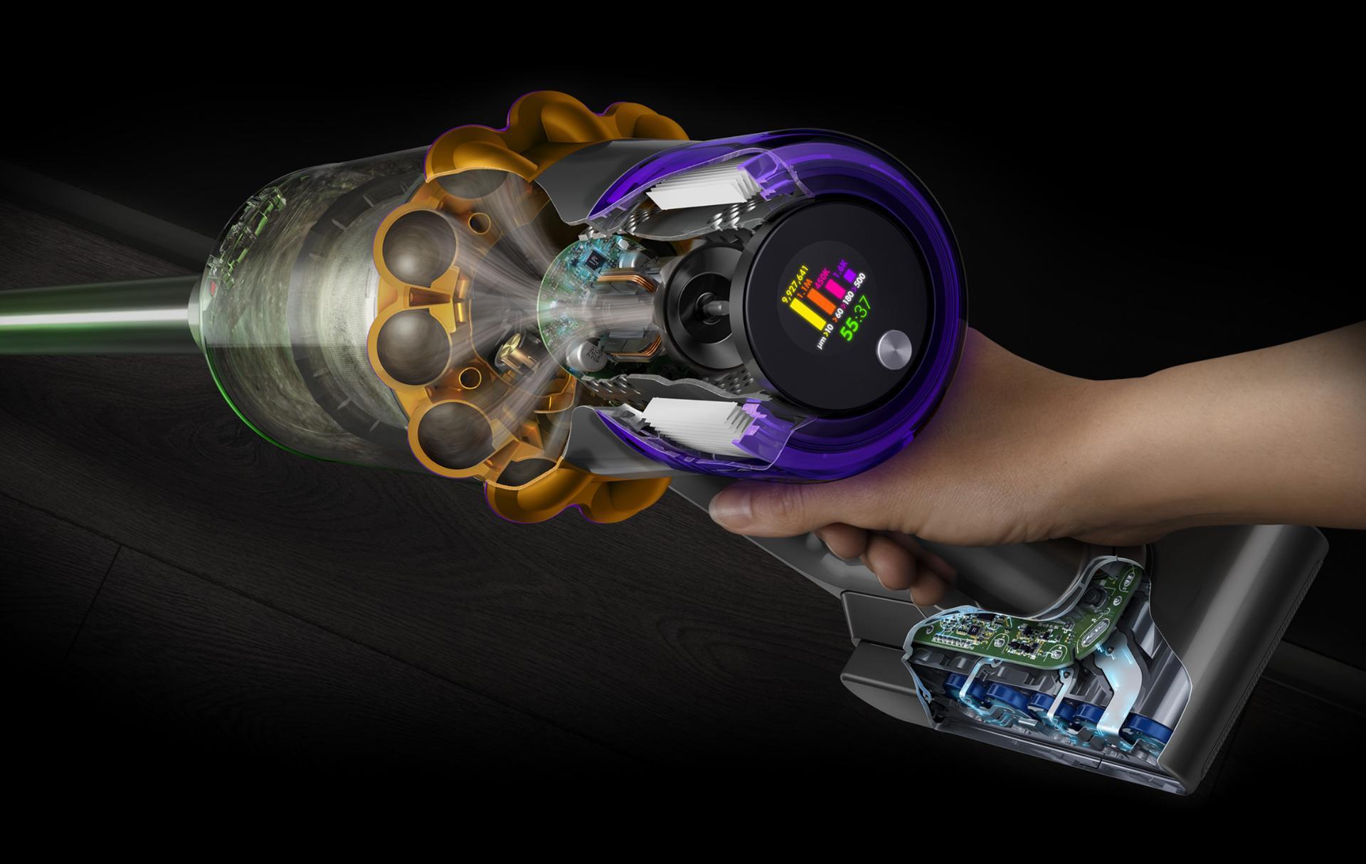 Cutaway of the Dyson Hyperdymium motor