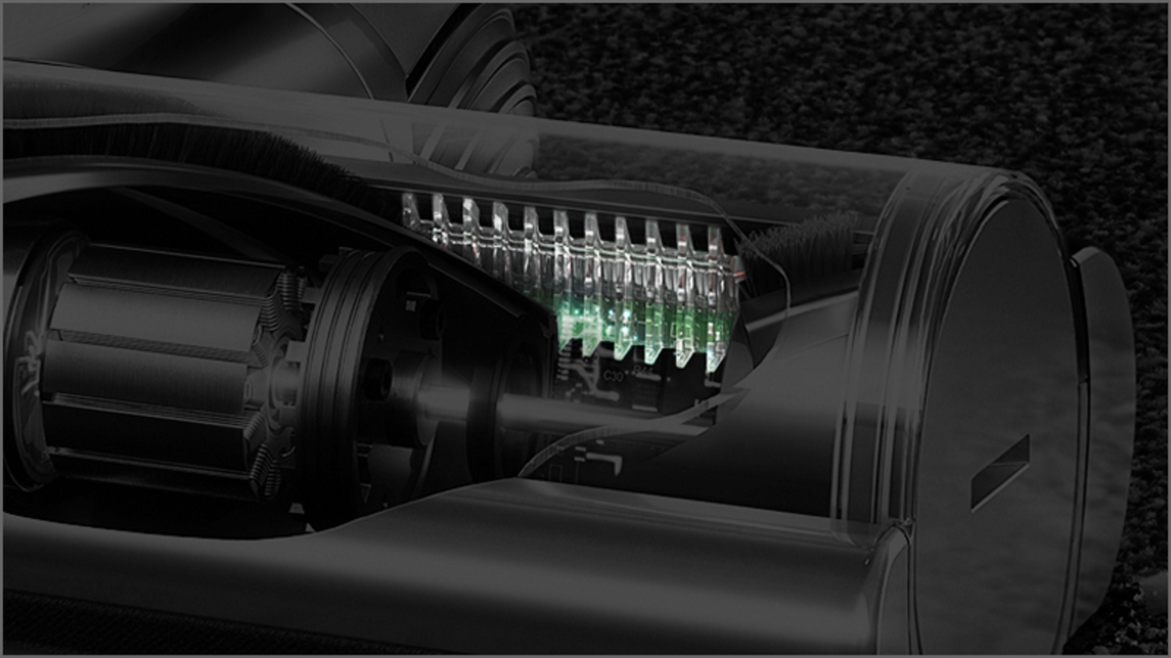 Zbliżenie na elektroszczotkę Torque Drive z technologią Anti-tangle