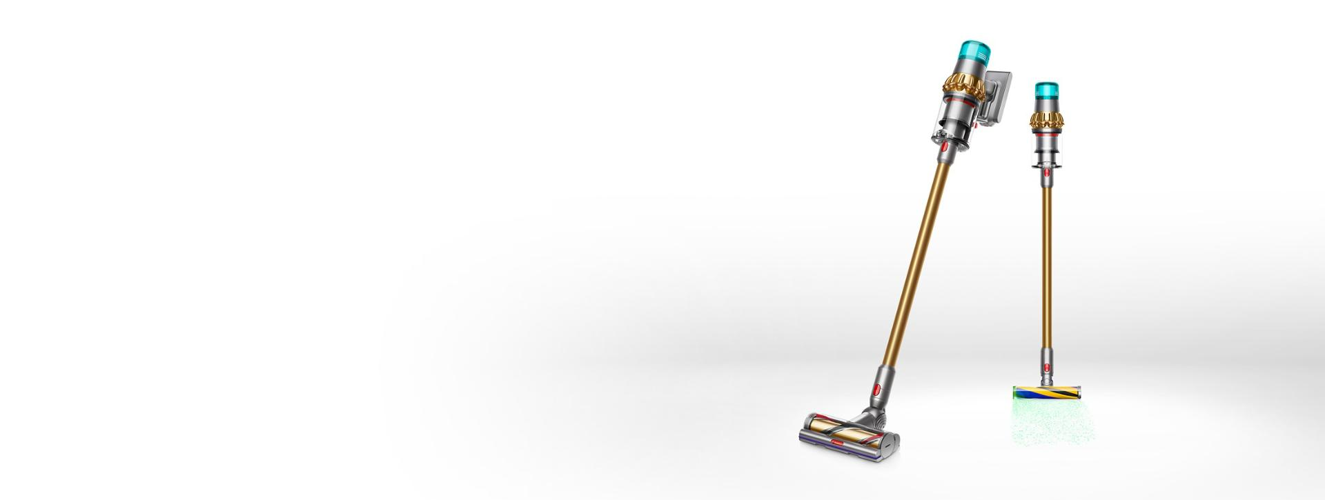 The Dyson V15 Detect vacuum cleaner