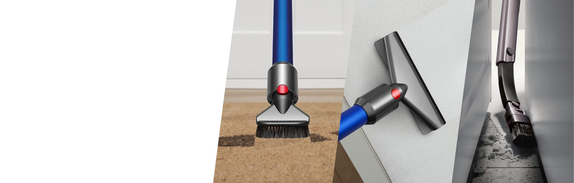 Dyson vacuum cleaner accessories cleaning the home