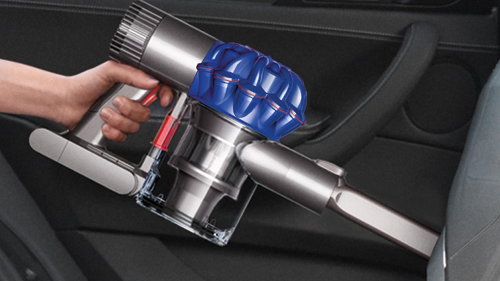 Image of a Dyson handheld vacuum