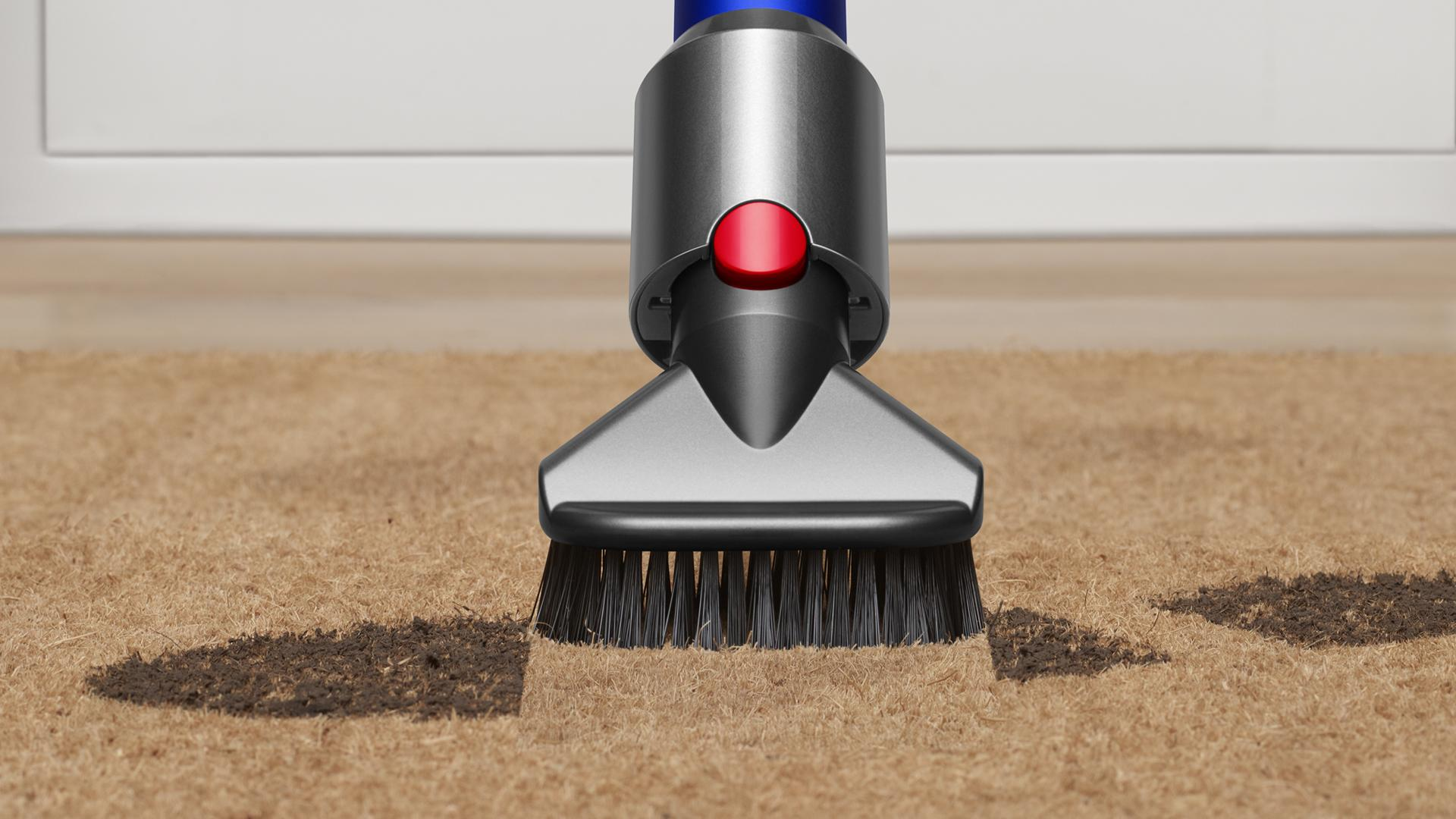 Stubborn dirt brush