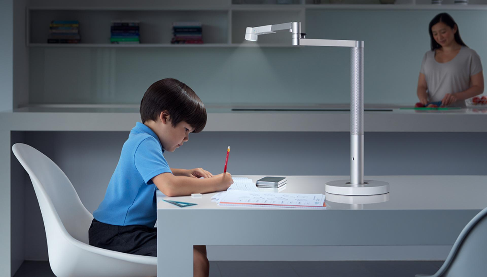 Boy working with Study mode