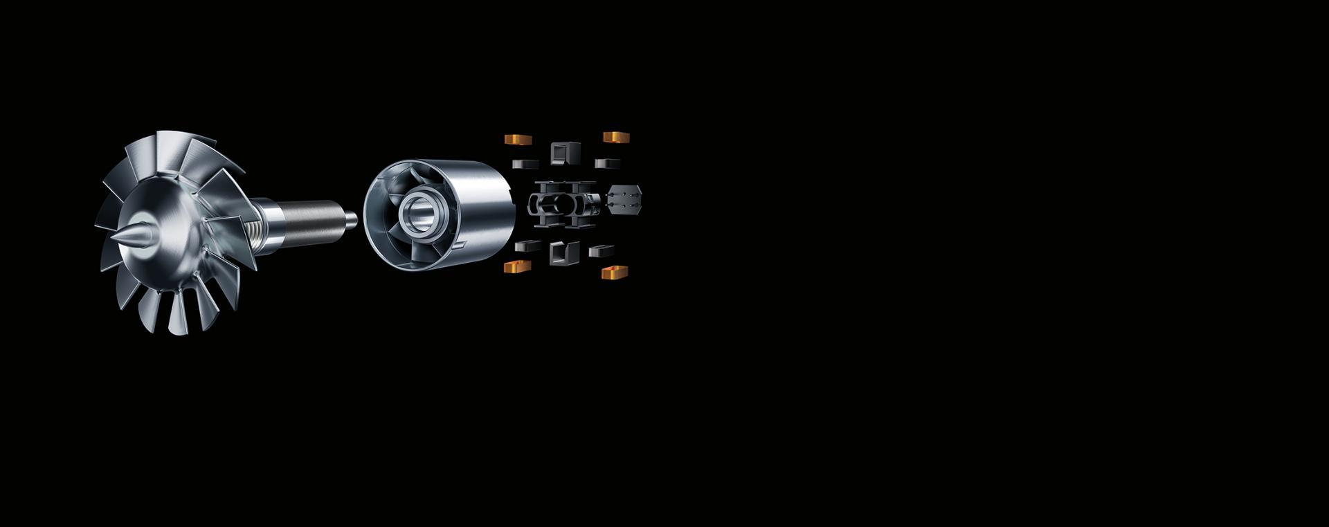 다이슨 디지털 모터 V9의 확대 이미지