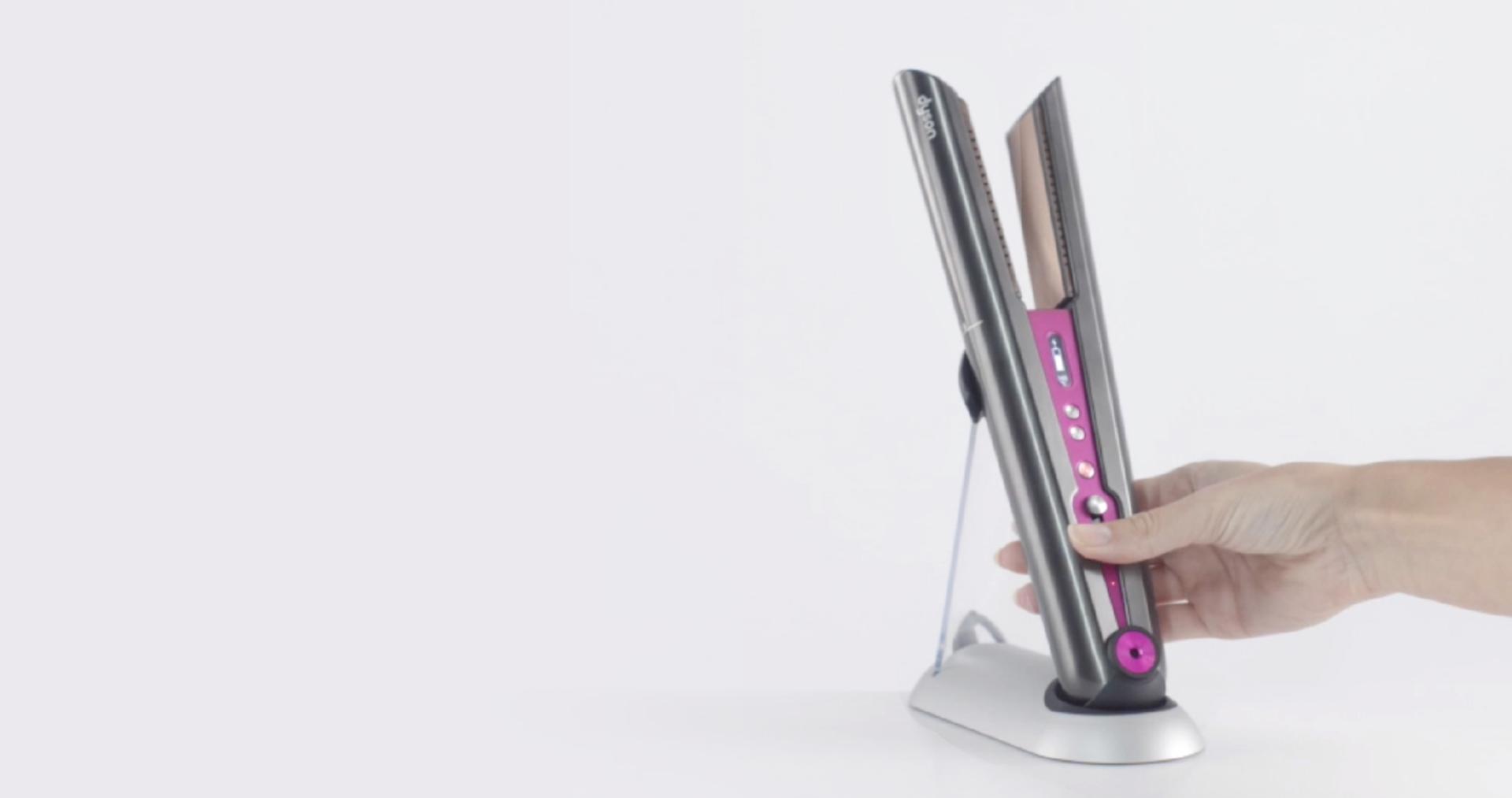 Placa de păr Dyson Corrale™ - video despre cum să maximizați timpul de funcționare