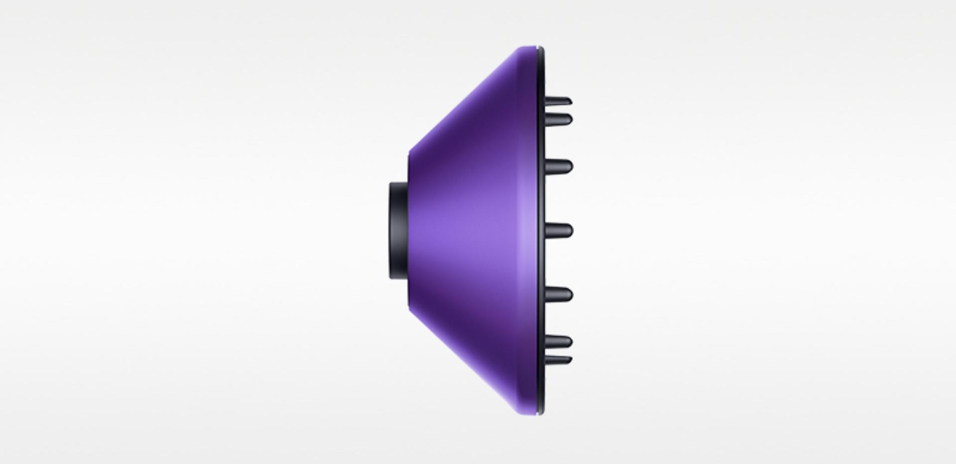 Diffuser for the Dyson Supersonic™ in Black/Purple