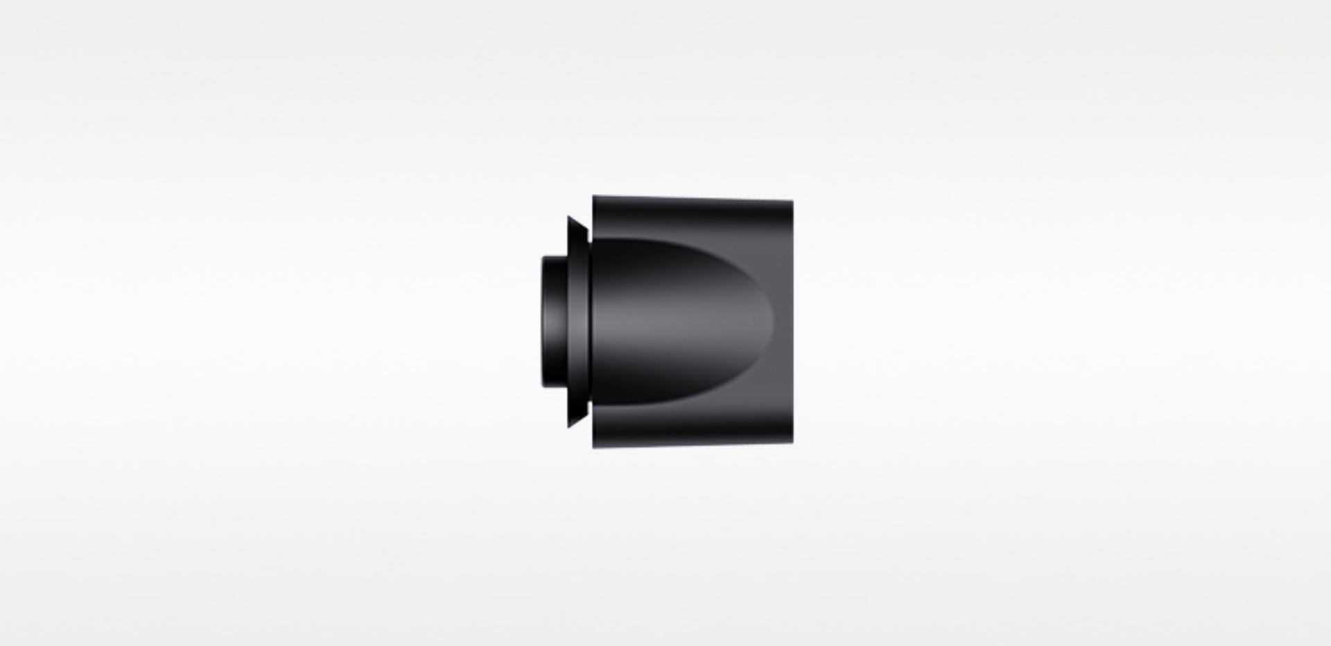 Smoothing nozzle for the Dyson Supersonic™ in Black