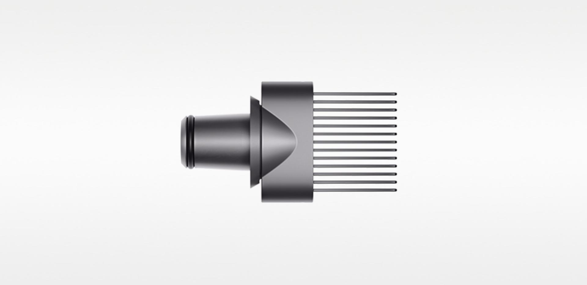 New wide tooth comb for the Dyson Supersonic™ in Iron