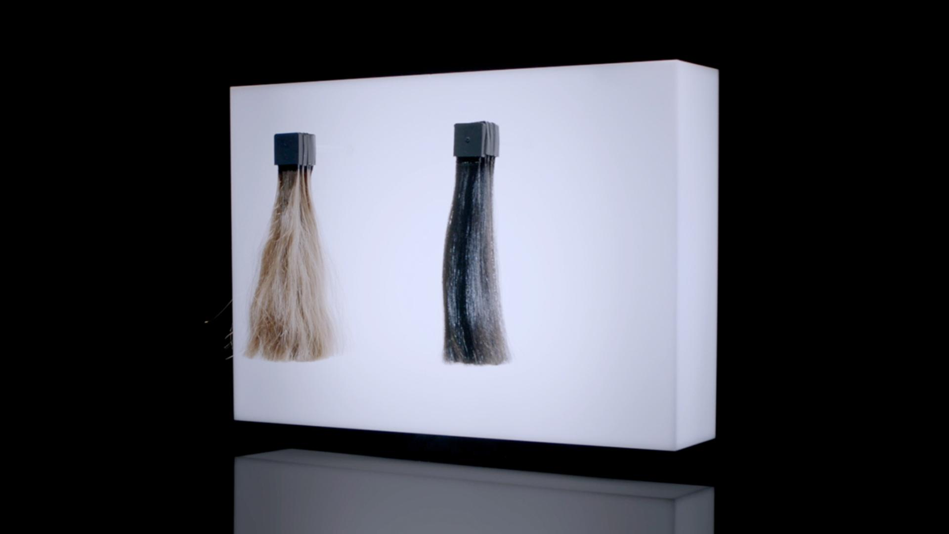 Play the video: At Dyson we redesigned heat control to prevent exteme heat damage and protect your hair, instead of having to repair it.