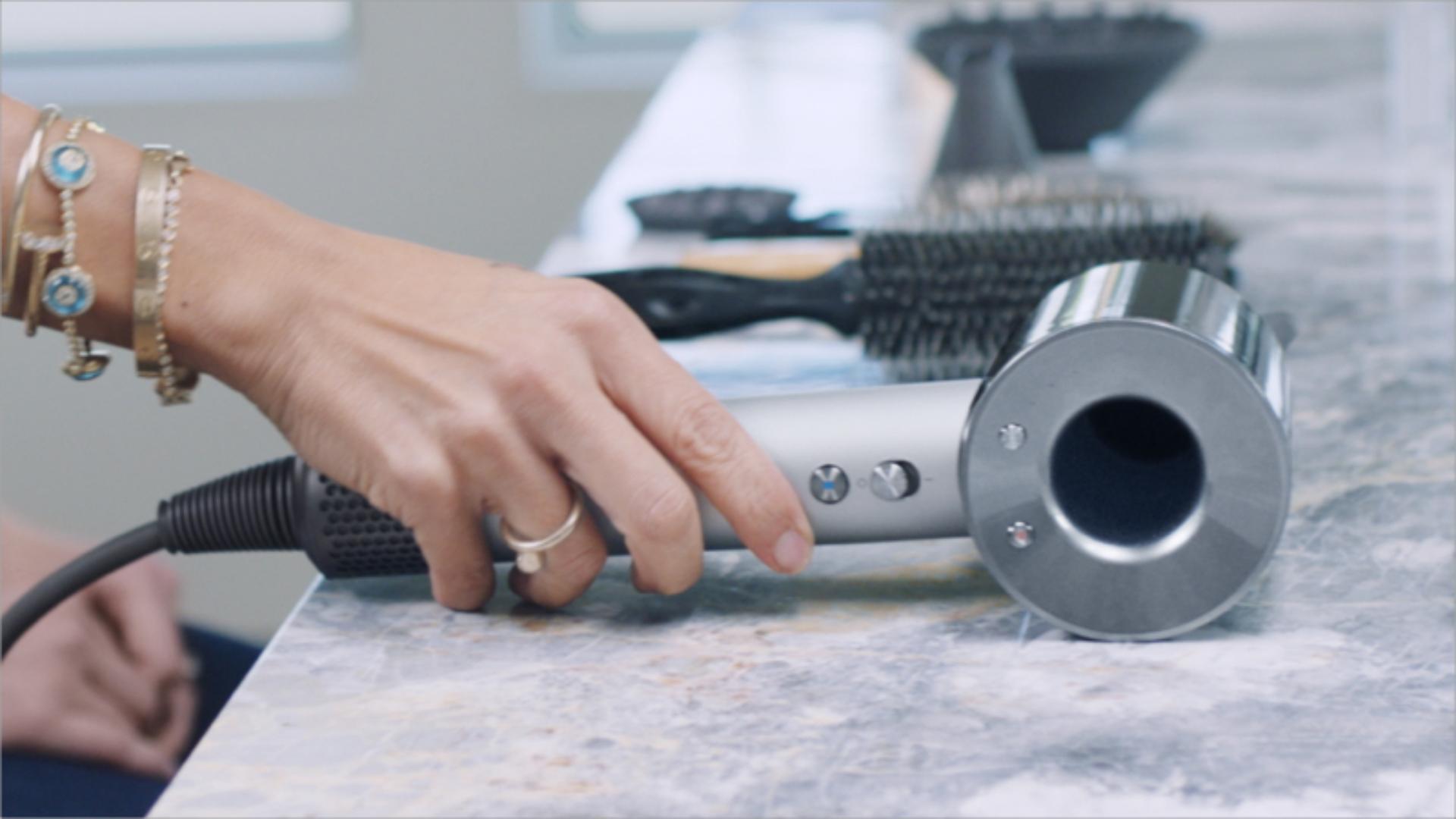 Dyson Supersonic Professional hair dryer in the salon