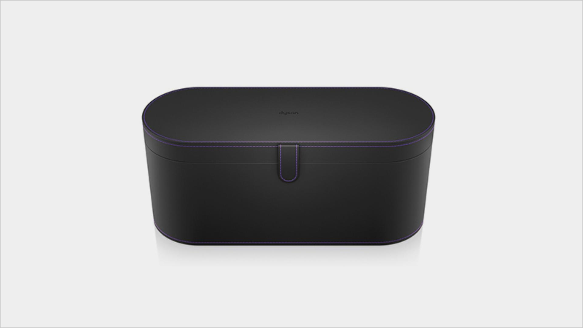 Küçük siyah saklama kutusu