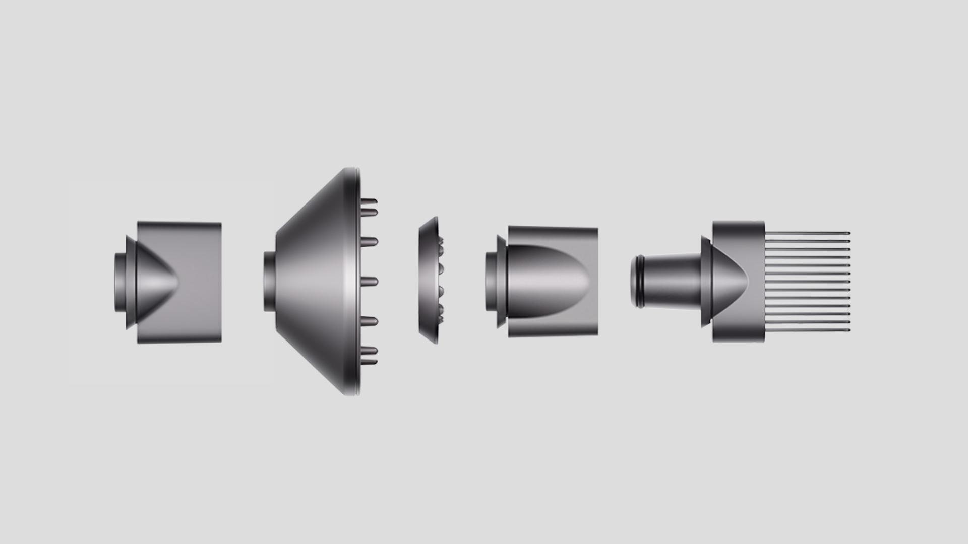 Dyson Supersonic™ hair dryer attachments