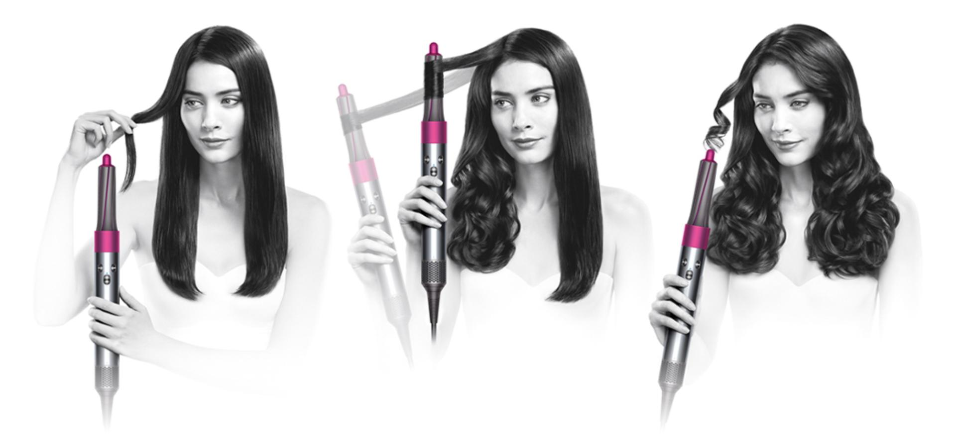 Video showing how to curl hair with the Dyson Airwrap™ styler