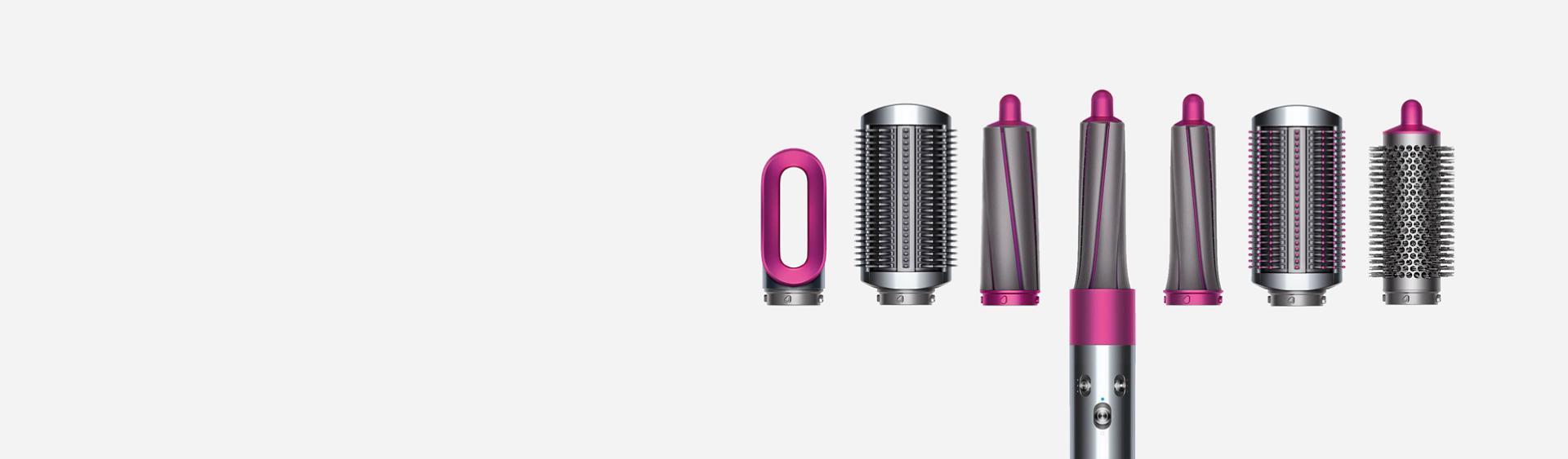 Range of Dyson Airwrap™ styler attachments