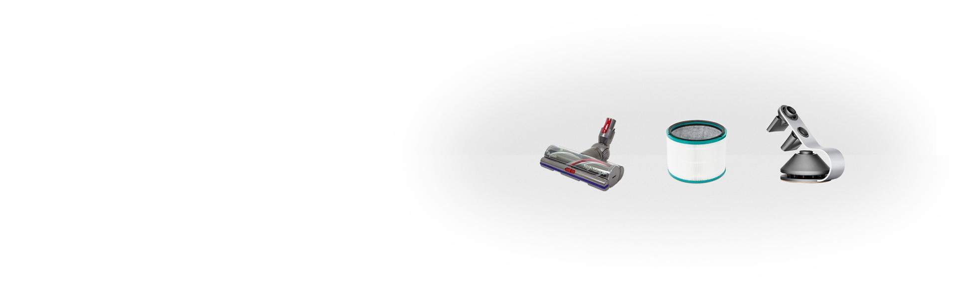 A range of four Dyson cordless vacuums