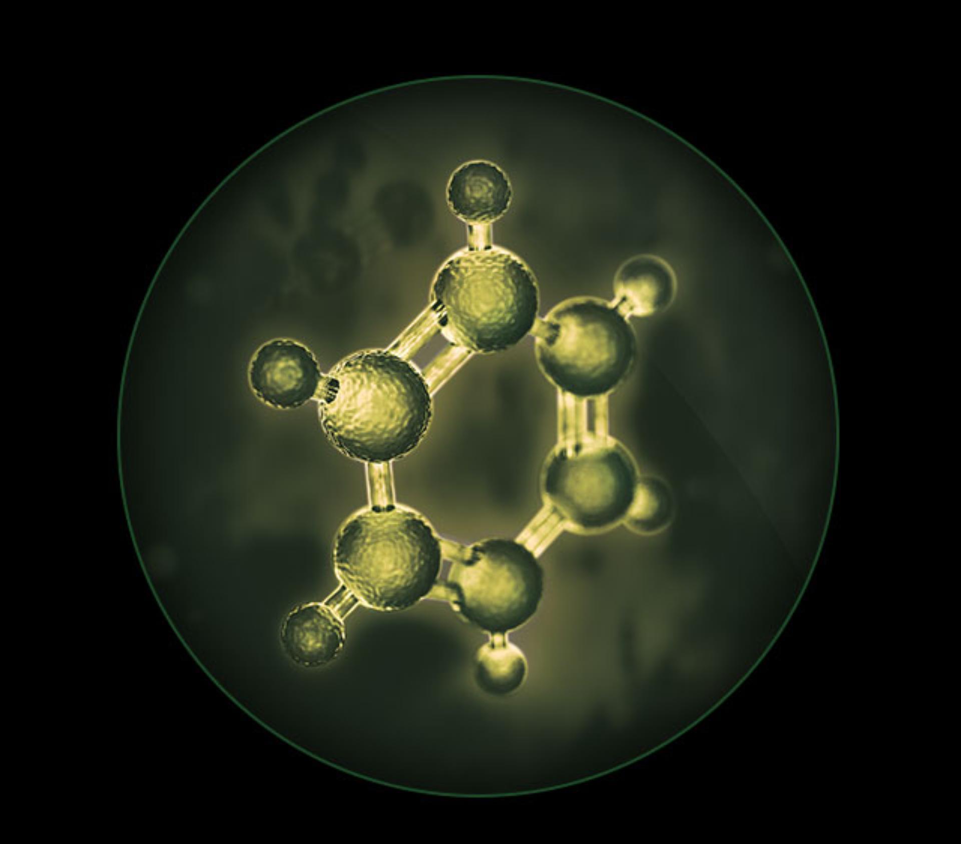 ภาพซูมใกล้ของอนุภาคที่มองด้วยตาเปล่าไม่เห็นและสารก่อภูมิแพ้ที่เป็นอันตราย
