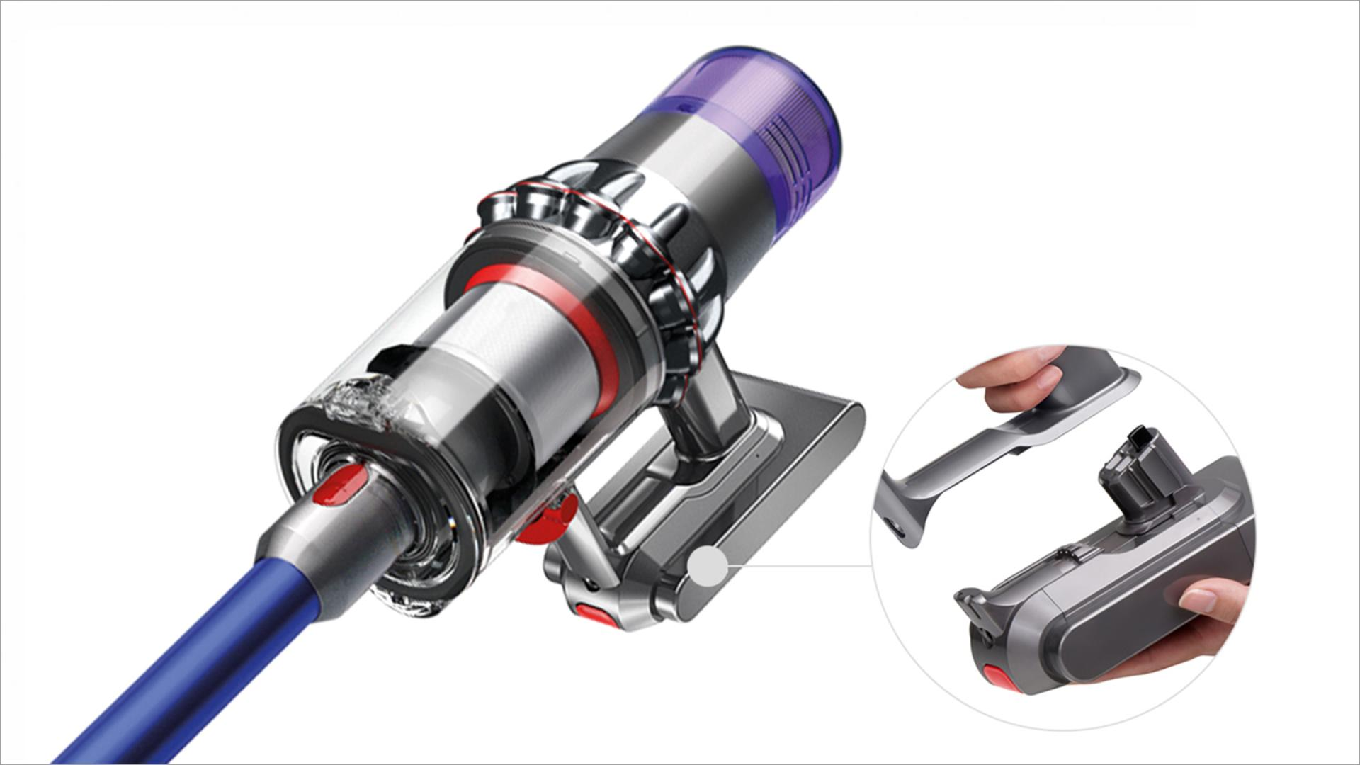 升級版 Dyson V11™ 吸塵機 拆卸式電池