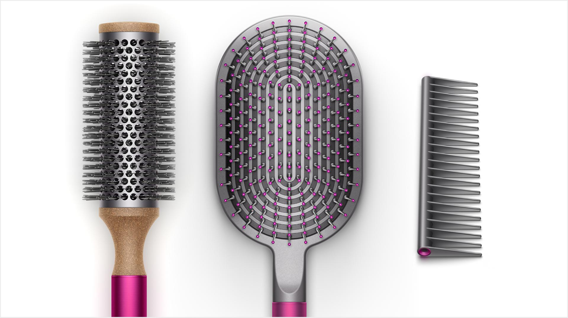 Dyson brushes and comb
