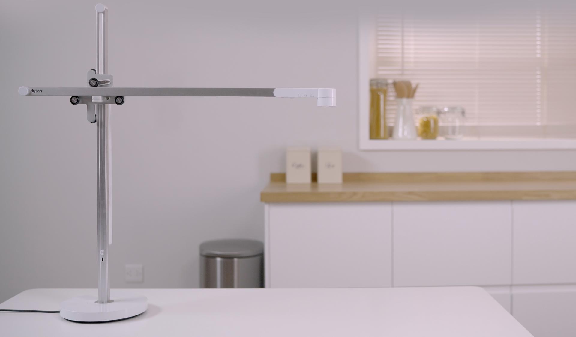Video sobre cómo configurar la lámpara de trabajo Dyson LightcycleTM