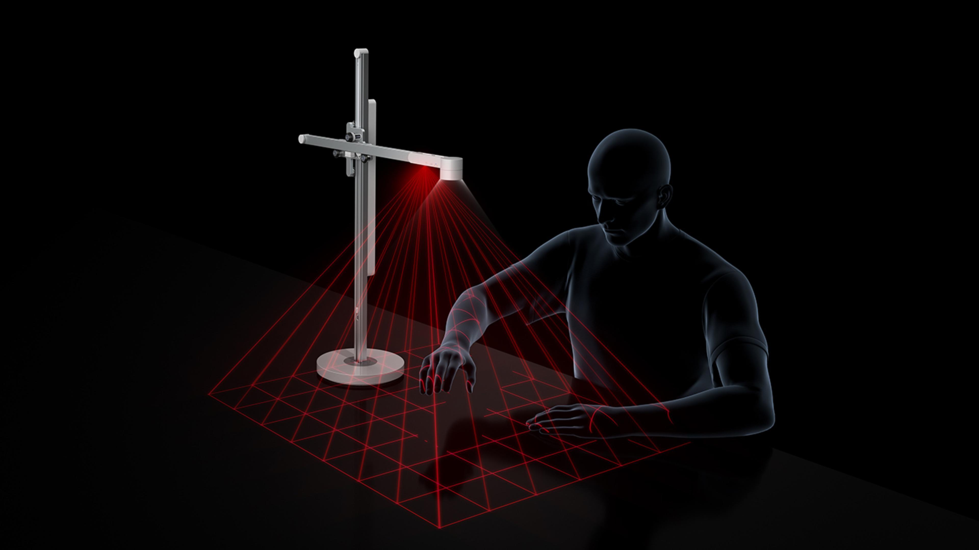 Sensores en la lámpara de Dyson LightCycle