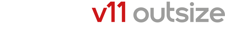 V11 Outsize Logo