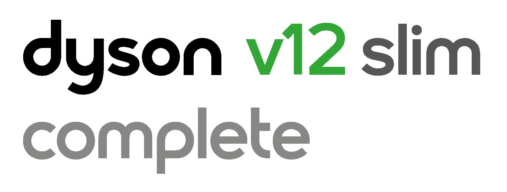 Dyson V12 slim Complete logo