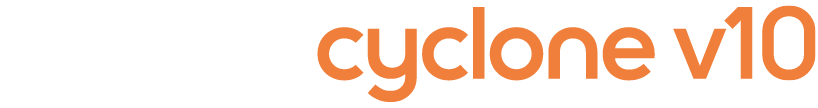 Dyson Cyclone V10 vacuum cleaner logo