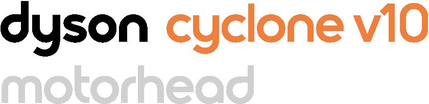 Logo de l'aspirateur Dyson Cyclone V10 Motorhead