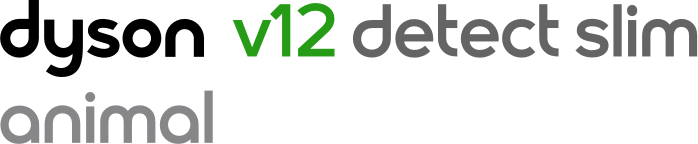 Dyson V12 detect slim absolute logo