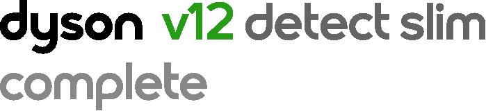 Dyson V12 detect slim Complete logo